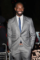 LONDON, ENGLAND. October 6, 2016: Tarell McCraney at the London Film Festival premiere for &quot;Moonlight&quot; at the Embankment Gardens Cinema, London.<br /> Picture: Steve Vas/Featureflash/SilverHub 0208 004 5359/ 07711 972644 Editors@silverhubmedia.com