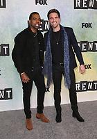 "08 January 2019 - Los Angeles, California - Mario and Brennin Hunt. FOX Hosts ""RENT"" Press Junket held at the FOX Lot. Photo Credit: Faye Sadou/AdMedia"