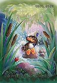 Ron, CUTE ANIMALS, Quacker, paintings, br.duck, brush(GBSG8092,#AC#) Enten, patos, illustrations, pinturas