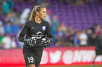 Orlando, FL - Saturday July 01, 2017: Aubrey Bledsoe during a regular season National Women's Soccer League (NWSL) match between the Orlando Pride and the Chicago Red Stars at Orlando City Stadium.