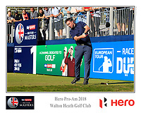 /{prsn}/ during the Hero Pro-Am at the Sky Sports British Masters, Walton Heath Golf Club, Surrey, England. 7-10-2018.<br /> Picture Fran Caffrey / Golffile.ie<br /> <br /> All photo usage must carry mandatory copyright credit (&copy; Golffile | Fran Caffrey)