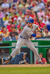 27 July 2013: New York Mets first baseman Ike Davis in action against the Washington Nationals at Nationals Park in Washington, DC. The Nationals defeated the Mets 4-1. Mandatory Credit: Ed Wolfstein Photo *** RAW (NEF) Image File Available ***