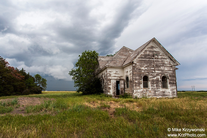 Abandoned Church near Walters, OK