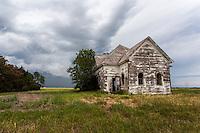 Abandoned Church near Walters, OK