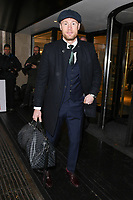 LONDON, UK. March 12, 2019: Freddie Flintoff arriving for the TRIC Awards 2019 at the Grosvenor House Hotel, London.<br /> Picture: Steve Vas/Featureflash