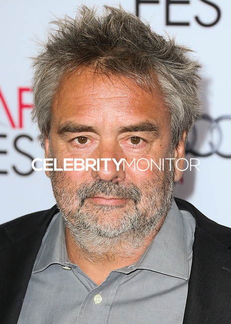 HOLLYWOOD, LOS ANGELES, CA, USA - NOVEMBER 11: Luc Besson arrives at the AFI FEST 2014 - 'The Homesman' Gala Screening held at the Dolby Theatre on November 11, 2014 in Hollywood, Los Angeles, California, United States. (Photo by Xavier Collin/Celebrity Monitor)