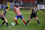 Atletico de Madrid´s Meseguer during UEFA Women´s Champions League soccer match between Atletico de Madrid and Olympique Lyonnais, in Madrid, Spain. November 11, 2015. (ALTERPHOTOS/Victor Blanco)
