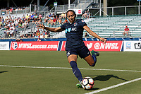 Cary, North Carolina  - Saturday June 03, 2017: Jaelene Hinkle during a regular season National Women's Soccer League (NWSL) match between the North Carolina Courage and the FC Kansas City at Sahlen's Stadium at WakeMed Soccer Park. The Courage won the game 2-0.