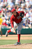 Wes Roemer. Arizona Diamondbacks spring training game vs. Chicago Cubs at Hohokam Stadium, Mesa, AZ - 03/05/2010.Photo by:  Bill Mitchell/Four Seam Images.