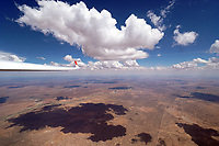 Cumulus über Kalahari AFRIKA, NAMIBIA:Cumulus über Kalahari