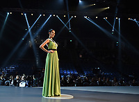 BANGKOK, THAILAND - DECEMBER 14: 2018 MISS UNIVERSE: Miss Panama, Rosa Iveth Montezuma during rehearsals for the 2018 MISS UNIVERSE competition at the Impact Arena in Bangkok, Thailand on December 14, 2018. Miss Universe will air live on Sunday, Dec. 16 (7:00-10:00 PM ET live/PT tape-delayed) on FOX.  (Photo by Frank Micelotta/FOX/PictureGroup)