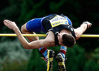 Photo: Richard Lane/Richard Lane Photography..Aviva World Trials & UK Championships athletics. 11/07/2009. Tom Parsons in the men's high jump.