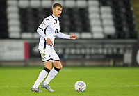 29th November 2019; Liberty Stadium, Swansea, Glamorgan, Wales; English Football League Championship, Swansea City versus Fulham; Tom Carroll of Swansea City brings the ball forward - Strictly Editorial Use Only. No use with unauthorized audio, video, data, fixture lists, club/league logos or 'live' services. Online in-match use limited to 120 images, no video emulation. No use in betting, games or single club/league/player publications