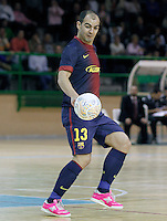 FC Barcelona Alusport's Wilde Gomes during Spanish National Futsal League match.November 24,2012. (ALTERPHOTOS/Acero) /NortePhoto