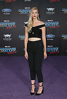 HOLLYWOOD, CA - April 19: Emma Ishta, At Premiere Of Disney And Marvel's &quot;Guardians Of The Galaxy Vol. 2&quot; At The Dolby Theatre  In California on April 19, 2017. <br /> CAP/MPI/FS<br /> &copy;FS/MPI/Capital Pictures