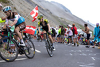 Jack Haig (AUS/Mitchelton-Scott) up the Col du Galibier (HC/2622m/23km@5.1%)<br /> <br /> Stage 18: Embrun to Valloire (208km)<br /> 106th Tour de France 2019 (2.UWT)<br /> <br /> ©kramon
