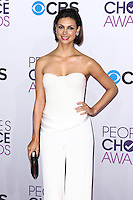 LOS ANGELES, CA - JANUARY 09: Morena Baccarin arrives at the 39th Annual People's Choice Awards held at Nokia Theatre L.A. Live on January 9, 2013 in Los Angeles, California.  Credit: MediaPunch Inc. /NORTEPHOTO
