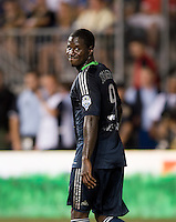 Eddie Johnson.  The MLS All-Stars defeated Chelsea, 3-2.