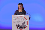 "Queen Letizia of Spain attends ""1st INTERNATIONAL SYMPOSIUM ON CANCERS OF THE SKIN"" in Madrid, Spain. January 30, 2015. (ALTERPHOTOS/Victor Blanco)"