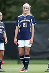 28 September 2014: Notre Dame's Brittany Von Rueden. The Wake Forest University Demon Deacons hosted the Notre Dame University Fighting Irish at W. Dennie Spry Soccer Stadium in Winston-Salem, North Carolina in a 2014 NCAA Division I Women's Soccer match.