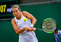 London, England, 6 July, 2019, Tennis,  Wimbledon, Womans single: Barbora Strycova  (CZE)<br /> Photo: Henk Koster/tennisimages.com