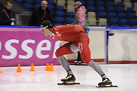 SCHAATSEN: HEERENVEEN: IJsstadion Thialf, 10-01-2013, Seizoen 2012-2013, Essent ISU EK allround training, Håvard Bøkko (NOR), ©foto Martin de Jong