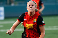 Rochester, NY - Friday May 27, 2016: Western New York Flash forward Makenzy Doniak (3). The Western New York Flash defeated the Boston Breakers 4-0 during a regular season National Women's Soccer League (NWSL) match at Rochester Rhinos Stadium.
