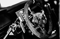 13th February 2020, Torsby base and Karlstad, Värmland County, Sweden; WRC Rally of Sweden, Shakedown event;  The steering wheel and controls on a   Citroen Volant