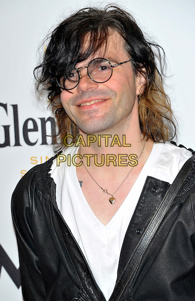 Tim Burgess.Mojo Honours List 2011 Awards Ceremony, held at The Brewery - Arrivals London, England..July 21st, 2011.headshot portrait black white jacket shirt glasses.CAP/CJ.©Chris Joseph/Capital Pictures.