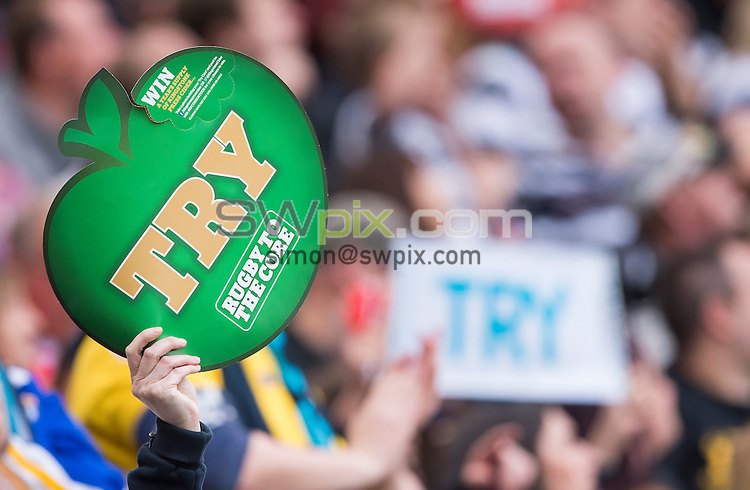 Picture by Allan McKenzie/SWpix.com - 30/05/2015 - Rugby League - First Utility Super League - Magic Weekend - The Brief - Leeds v Wigan - St. James's Park, Newcastle, England - Fans, supporters.