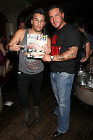 Johnny Donovan and Anthony Cracchiolo attend Inked Magazine release party celebrating August issue, New York. July 17, 2012 © Diego Corredor/MediaPunch Inc.