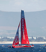 8th December 2017, Cape Town South Africa;  Volvo Ocean Race 2017/2018 at Cape Town Waterfront, South Africa; Dongfeng