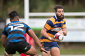 Counties Manukau Rugby Union Premier Sid Marshall Shield final between Patumahoe and Onewhero played at ECOLight Stadium1 on Saturday July 23rd 2016. Patumahoe won the game 13 - 3 after leading 10 - 0 at half time.<br /> Photo by Richard Spranger.