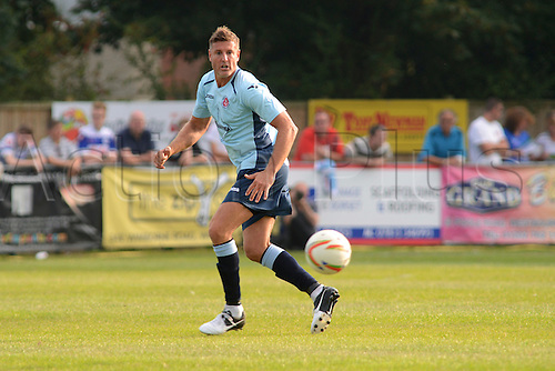 07.09.2014.  Poole, England. Charity match in aid of MND sufferer Andrew Culliford. Ex-AFC Bournemouth Steve Fletcher.