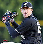 Photo of the Wofford College Terriers in a game against the Boston College Eagles on Friday, February 13, 2015, at Russell C. King Field in Spartanburg, South Carolina. (Tom Priddy/Four Seam Images)