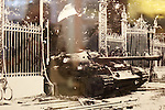 Tank That Came Through Gate In Siagon April 30th 1975