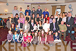 Keith and Sarah Mason, St. Brendans Park celebrate the christening of baby Alex at St. Brendan's  Church Tralee, by Fr. Walshe and after at the Kerins O'Rahilly clubhouse with family and friends on Saturday