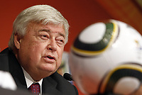 2014 CBF President Ricardo Teixeira (Brasil) at the 2014 world cup announcement;  On April 6th 2020, in addition to Ricardo Teixeira, the former president of the Brazilian Football Confederation and the now-deceased ex-COMNEBOL president Nicolas Leoz and a co-conspirator, two former Fox employees have been indicted as part of the investigation into corruption by US official, which claims that Russia and Qatar offered and paid bribes to secure votes in the process that saw them awarded the 2018 and 2022 World Cups,  an indictment in the United States alleges. The document, was brought by federal prosecutors in New York as part of the long-running investigation into corruption surrounding football's governing body