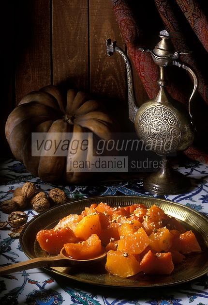 """Europe/Turquie/Antalya : Dessert au potiron """"Kabak Tatlisi"""""""