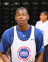 James Bell handles the ball during the 2009 NBPA Top 100 Basketball Camp held Friday June 17- 20, 2009 in Charlottesville, VA. Photo/ Andrew Shurtleff