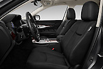 Front seat view of 2016 Infiniti Q70 Hybrid 4 Door Sedan Front Seat  car photos