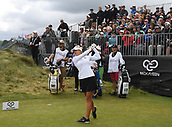 30th September 2017, Windross Farm, Auckland, New Zealand; LPGA McKayson NZ Womens Open, third round;  Wales' Amy Boulden tees off on the 1st