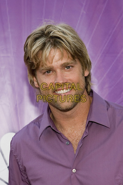 25 July 2005 - Los Angeles, California - Eric Stromer.  2005 NBC Network All Star Celebration Arrivals held at the Century Club.  Photo Credit: Zach Lipp/AdMedia