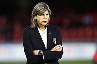 Milena Bartolini coach of Italy during the warm up<br /> Benevento 08-11-2019 Stadio Ciro Vigorito <br /> Football UEFA Women's EURO 2021 <br /> Qualifying round - Group B <br /> Italy - Georgia<br /> Photo Cesare Purini / Insidefoto