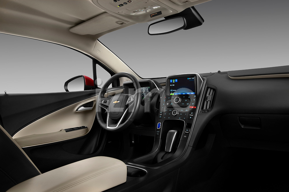 Passenger dashboard view of a 2011 Chevrolet Volt