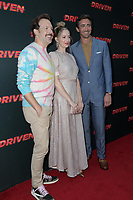 "LOS ANGELES - JUL 31:  Jason Sudeikis, Judy Greer, Lee Pace at the ""Driven"" Los Angeles Premiere at the ArcLight Hollywood on July 31, 2019 in Los Angeles, CA"