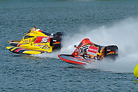 Fred Durr (#96), David McMurray (#57), Jeff Reno (#34)  (F1/Formula 1)
