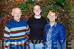 Derek Griffin from Gallowsfield celebrating his birthday with his parents in Cassidys on Friday night.<br /> L-r, William, Derek and Catherine Griffin.