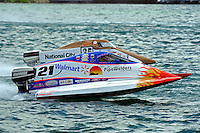 26  July, 2009, Trenton, Michigan USA.Mark Schmerbach (#35) and Jose Mendana, Jr. (#21).©2009 F.Peirce Williams USA.SST-45 class