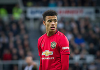 Mason Greenwood of Man Utd during the Premier League match between Newcastle United and Manchester United at St. James's Park, Newcastle, England on 6 October 2019. Photo by J GILL / PRiME Media Images.